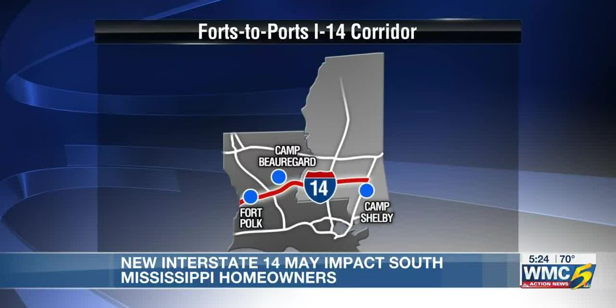 New interstate could residents in its path in Mississippi