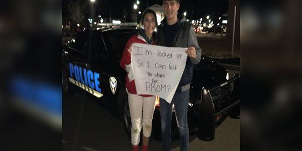 Oxford police help teen with elaborate promposal