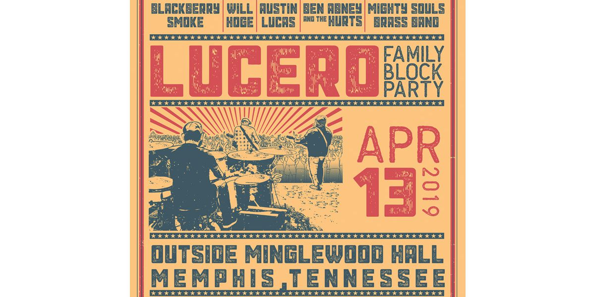 Enter for a chance to win tickets to the Lucero Family Block Party at Minglewood Hall