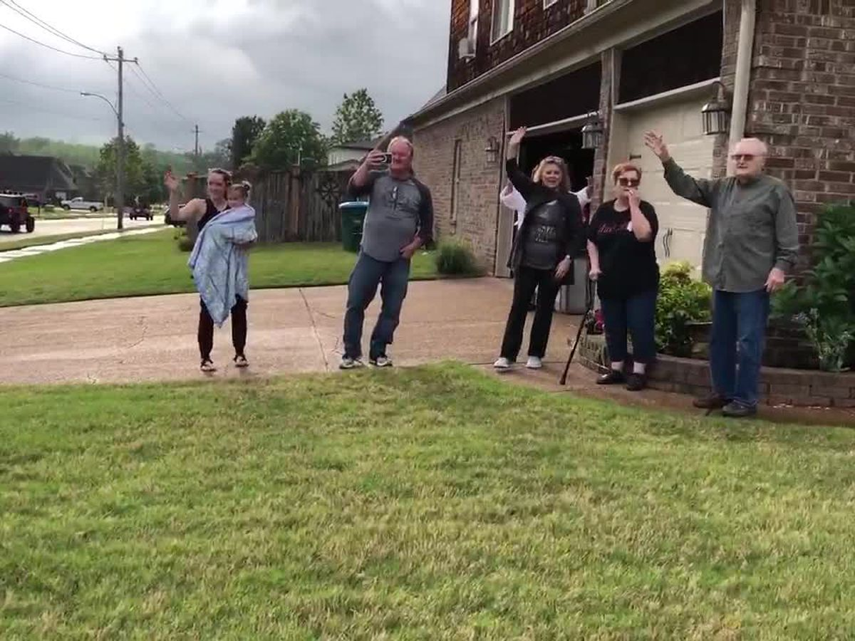 WWII Army vet gets special birthday surprise