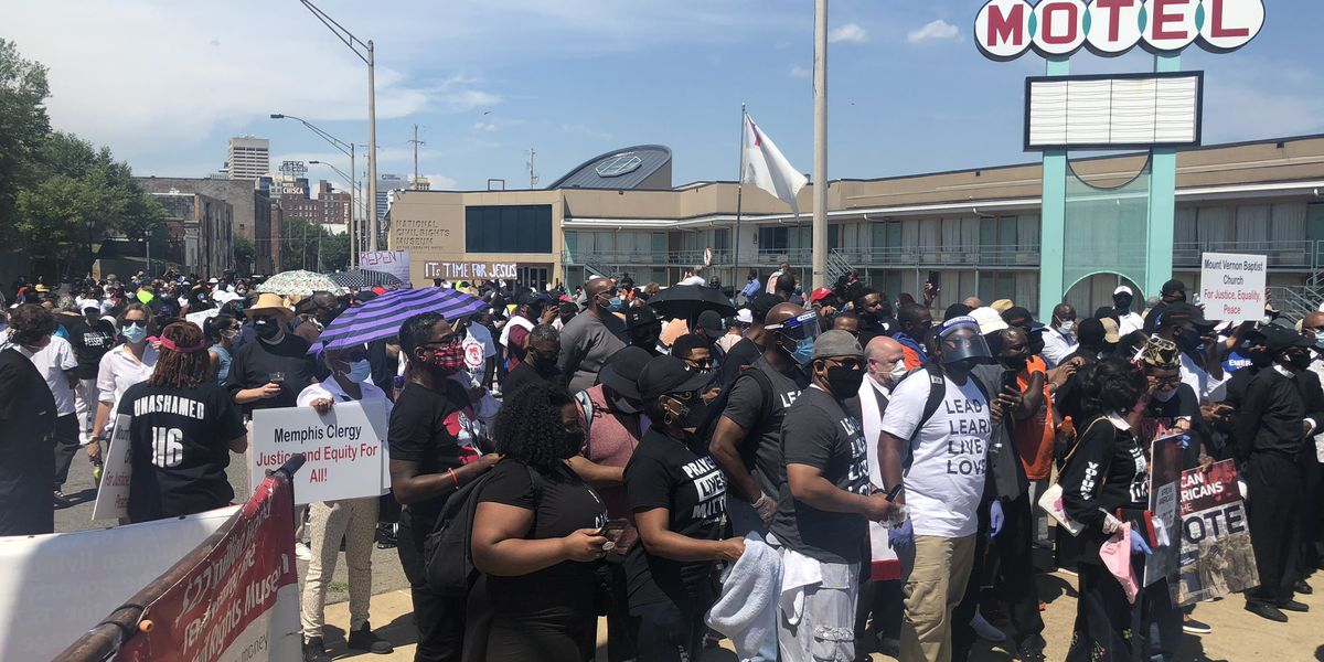 Memphis pastors, faith leaders organize prayer walk for justice and equality