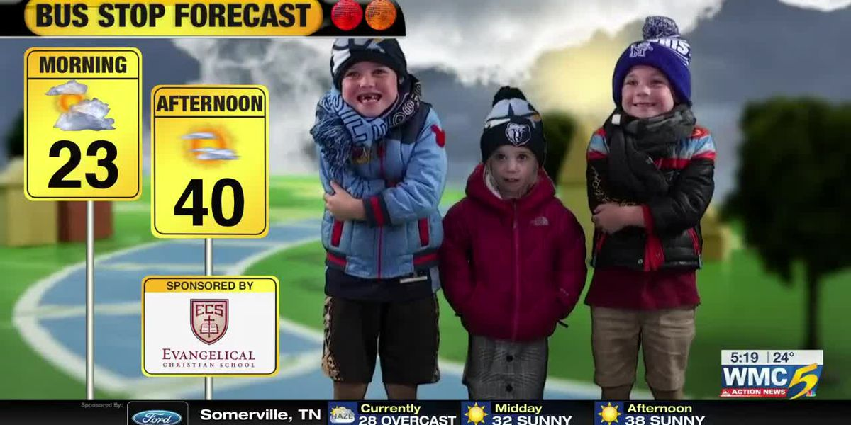 Feb. 14 - Bus Stop Forecast