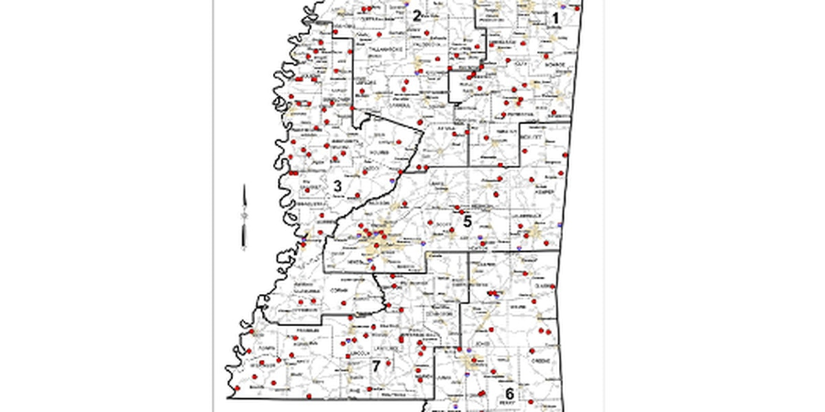 Mississippi Transportation Commission announces funding for 163 Emergency Road and Bridge Repair Fund projects