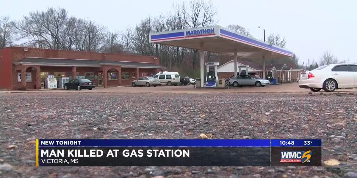 Man killed at gas station