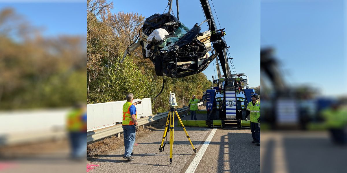 Tractor-trailer involved in I-40 crash that killed 2 TDOT contractors was stolen, truck company says