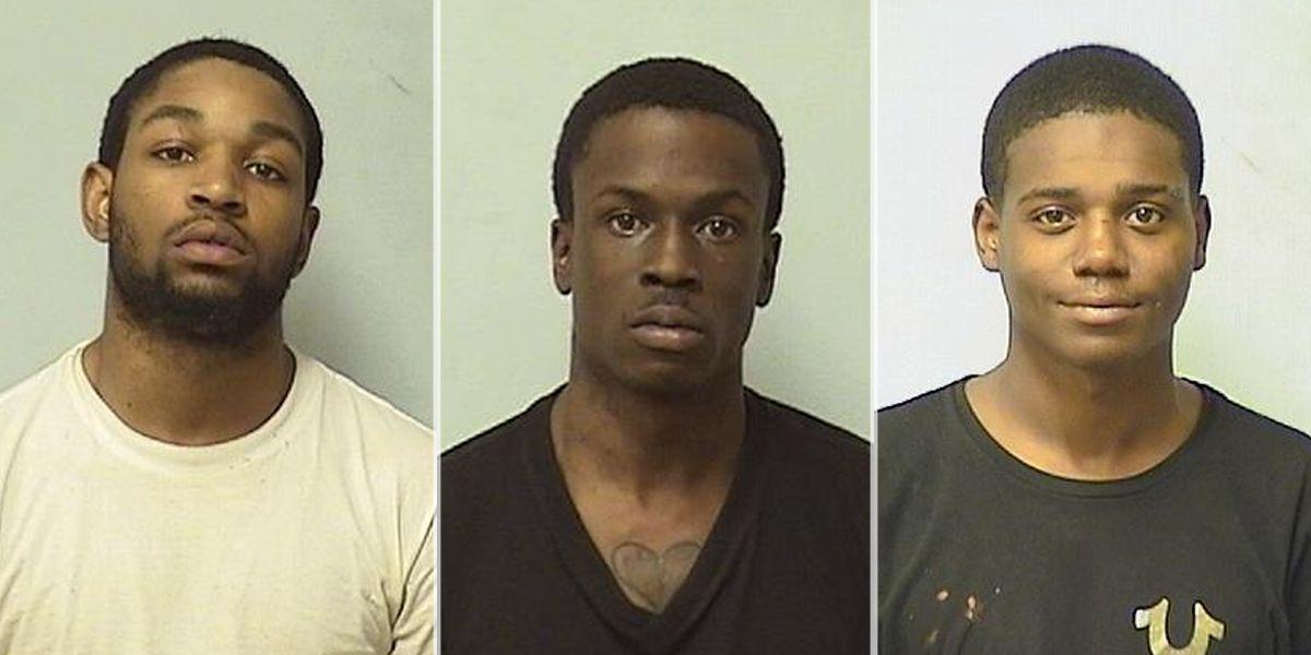 Olive Branch police arrest 3 in recent car burglaries