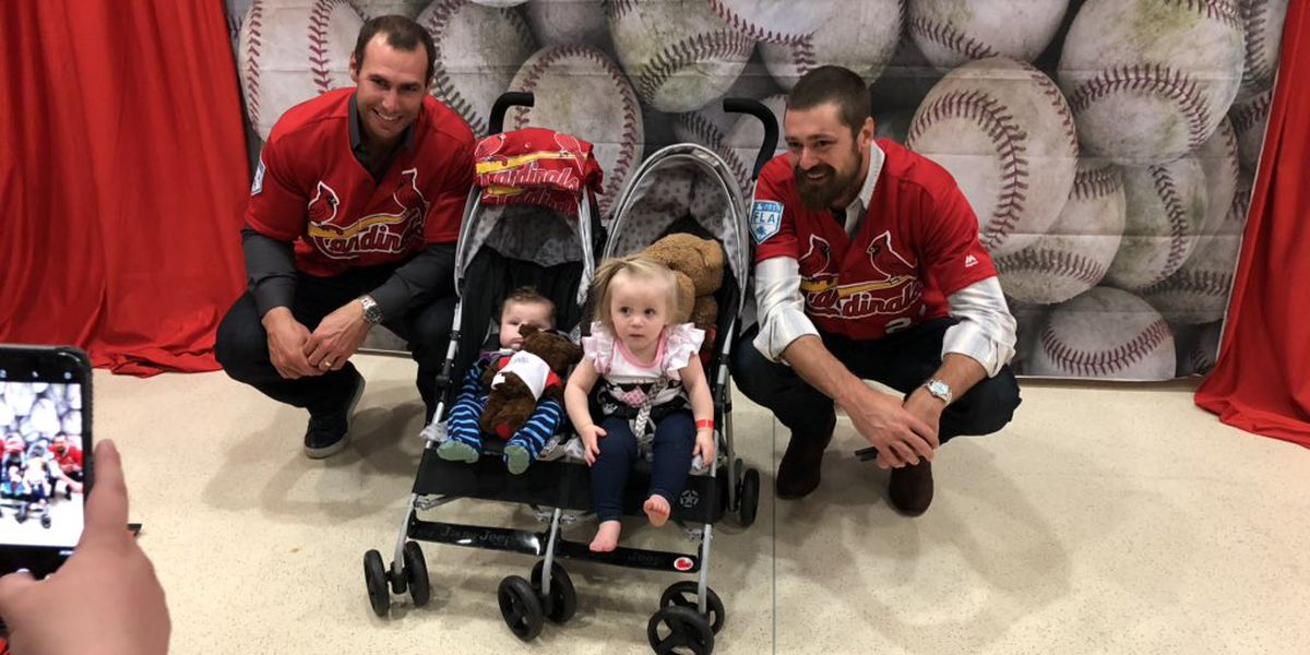 Cardinals visit patients at Le Bonheur Children's Hospital