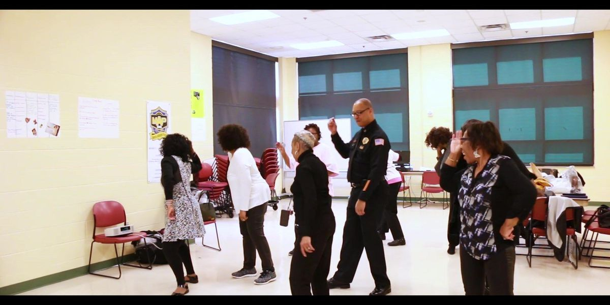 VIDEO: MPD Dir. Rallings, 'Sassy Seniors of Memphis' enjoy fun dance session