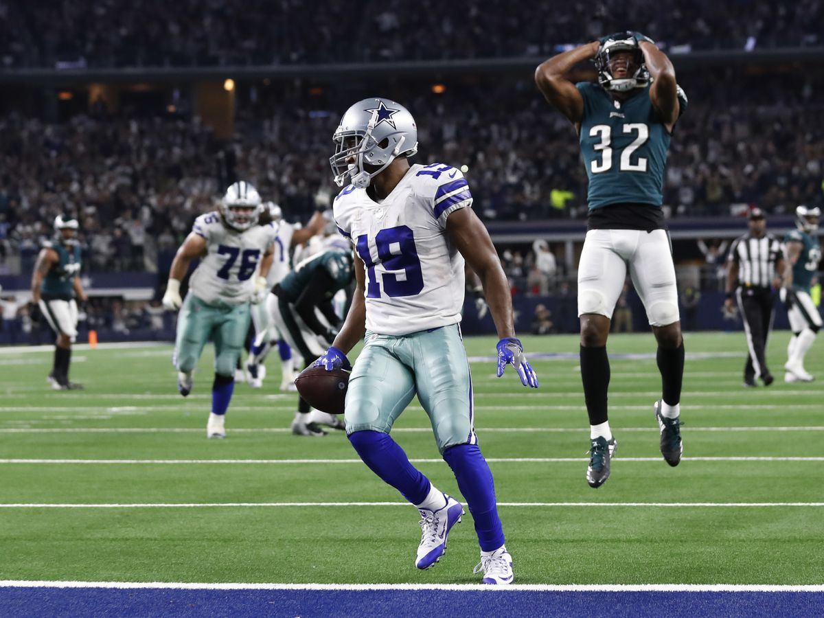 Prescott's 3rd TD to Cooper lifts Cowboys over Eagles in OT