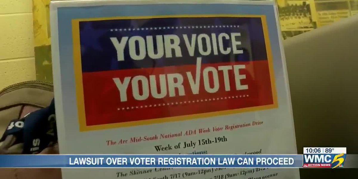 Federal judge weighs in on voter registration practices