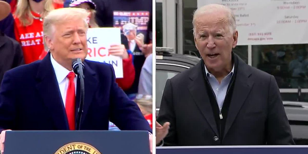 COVID-19 pandemic dominates Trump, Biden campaigns in week before Election Day