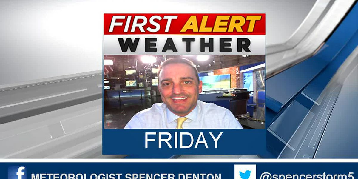 Spencer's Friday Afternoon Forecast