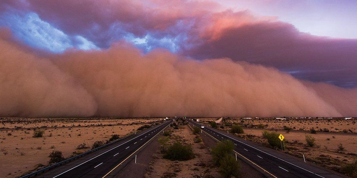 Haboob: How a wall of dust is formed in the desert