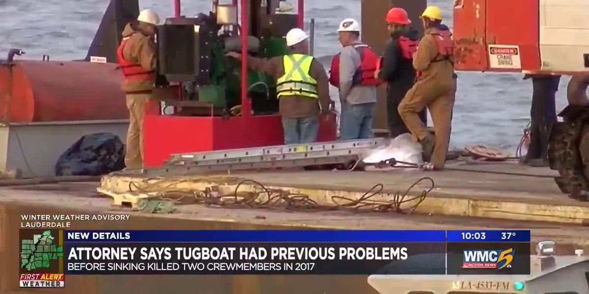 Attorney says tugboat had previous problems