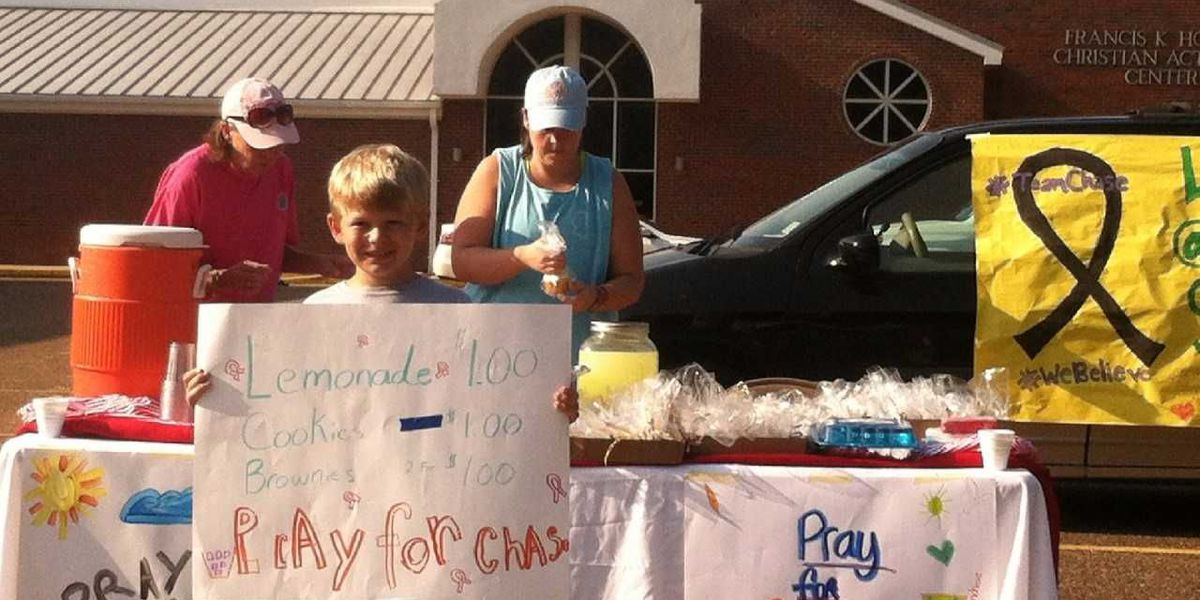 Mississippi teen sells lemonade to raise thousands for St. Jude, honor friend
