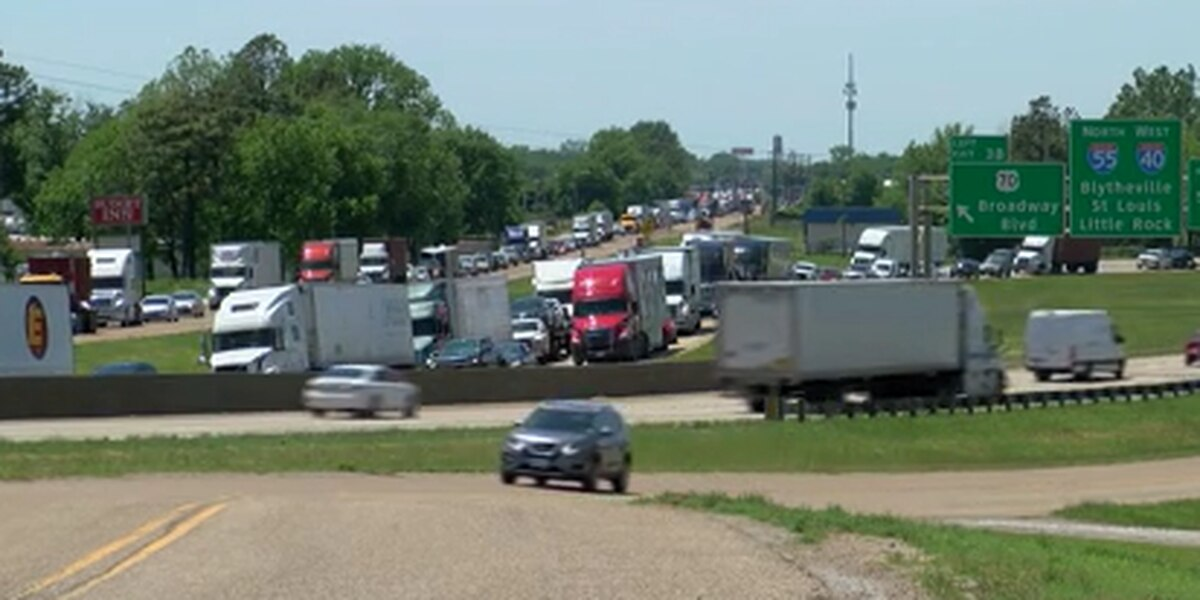 Truck drivers impacted by I-40 bridge closure