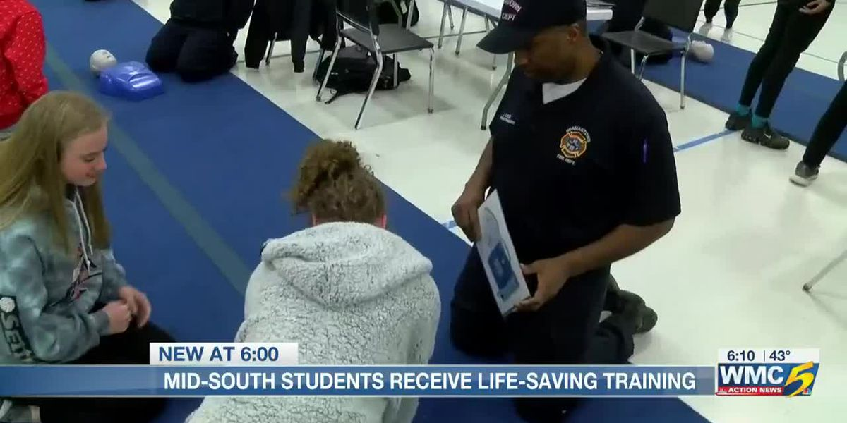 Local high school students get CPR certified while raising awareness for heart health
