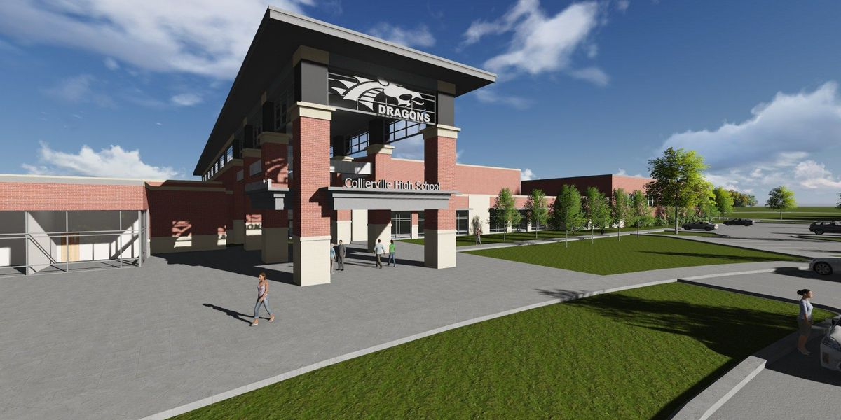 FIRST LOOK: The new Collierville High School design