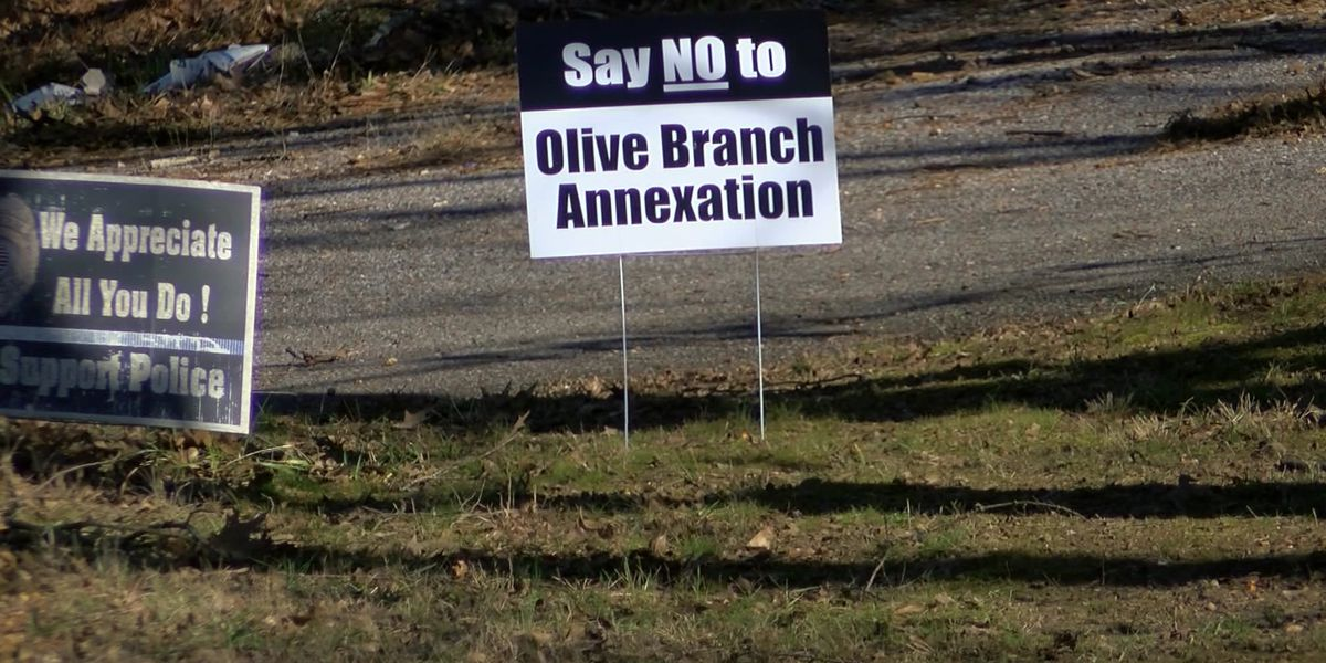 Olive Branch residents oppose plans to annex unincorporated area of DeSoto County