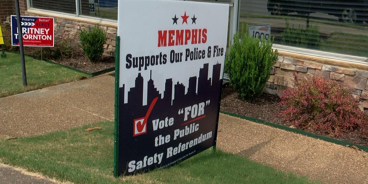 Memphians approve public safety sales tax referendum
