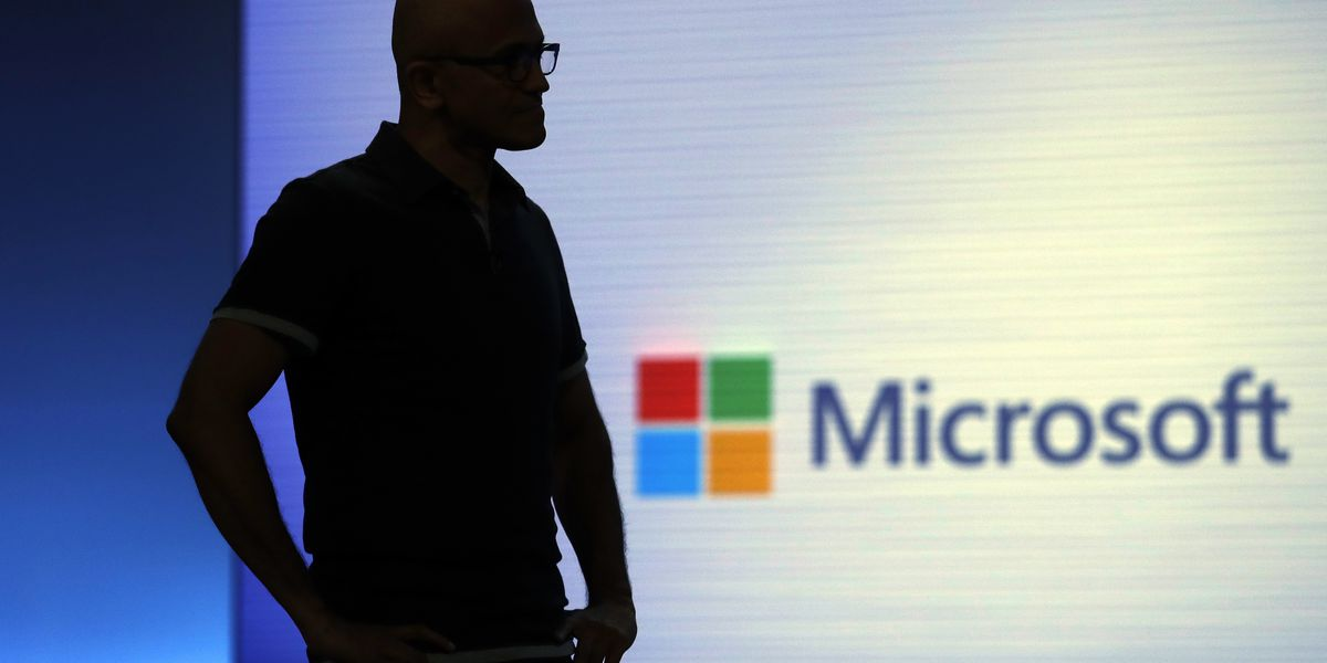 Apple's stock sours Microsoft's soars. Say what