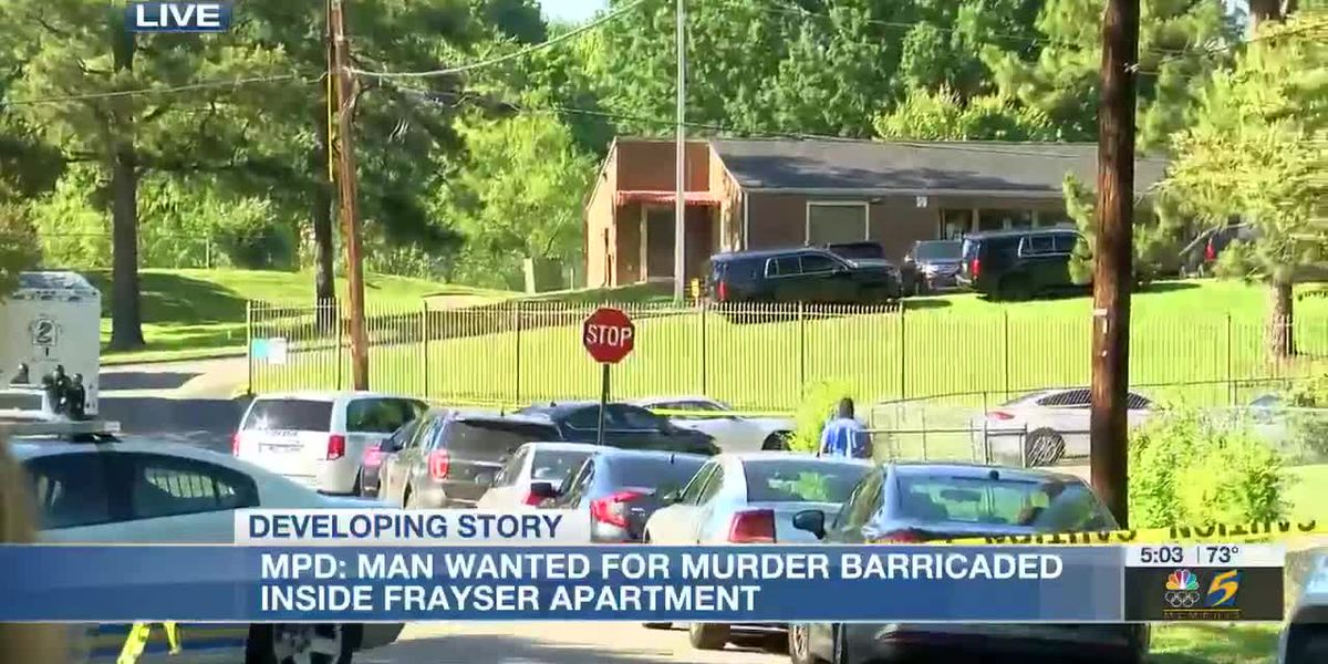 MPD: Man wanted for murder barricaded inside Frayser apartment