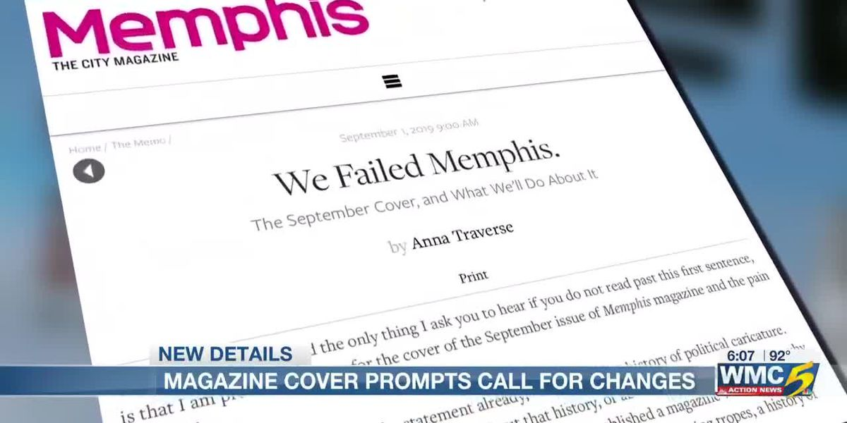Group of community leaders calls for editorial changes at Memphis Magazine after political caricature controversy