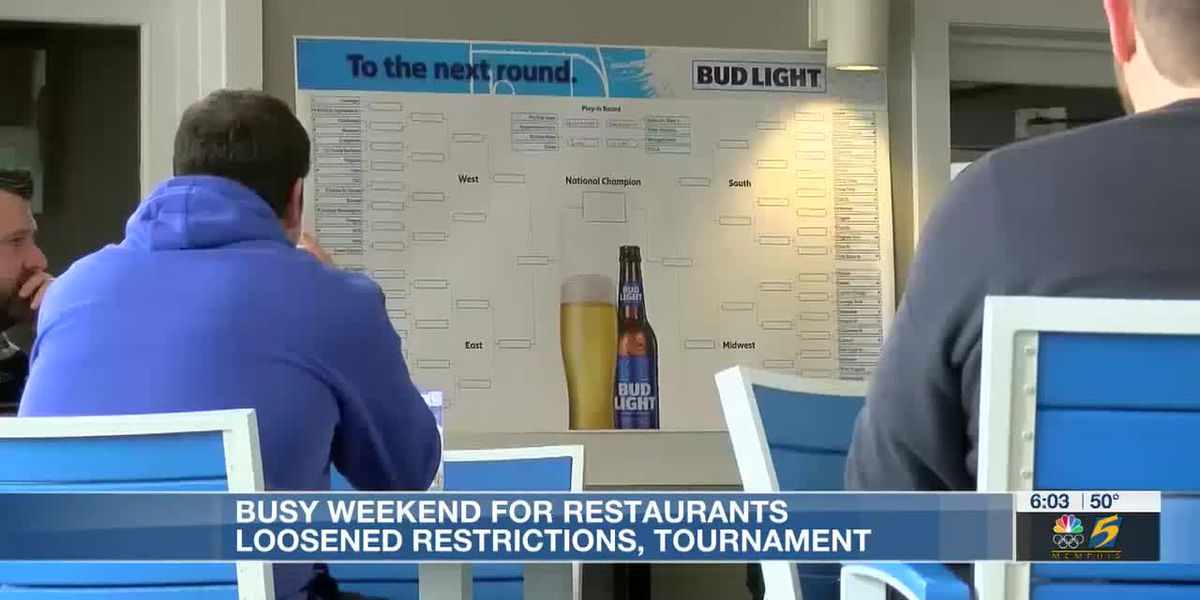 Busy weekend for Mid-South; restaurants loosened restrictions, tournament
