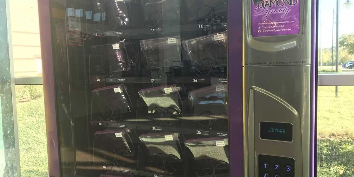 Weave vending machine pops up at Wolfchase