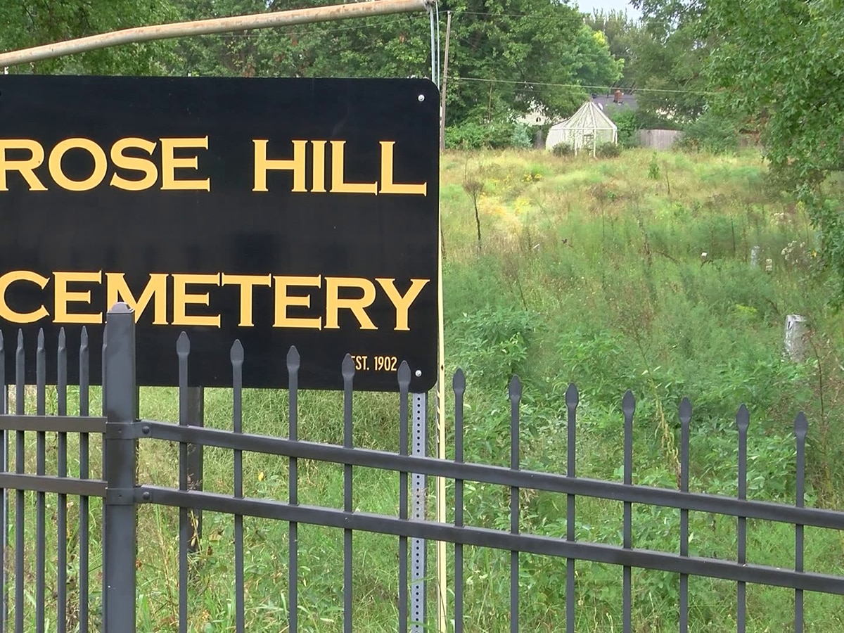 Relatives upset over conditions of Rose Hill Cemetery
