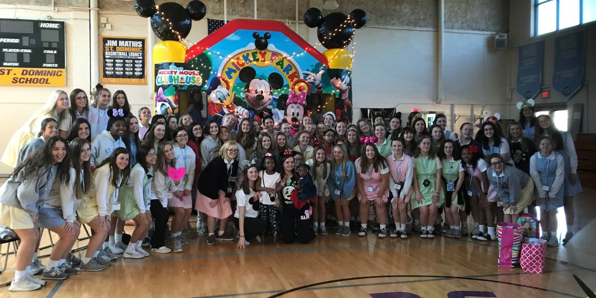 St. Agnes, St. Dominic students surprise Make-A-Wish recipient with wish reveal