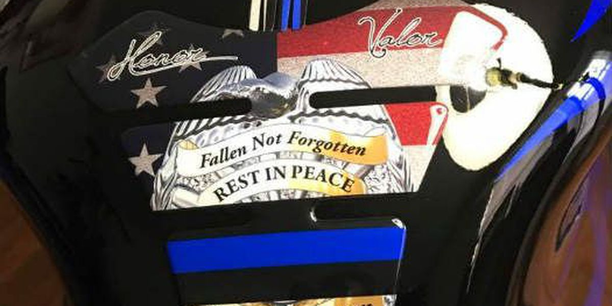 Memphis man memorializes fallen officers on motorcycle