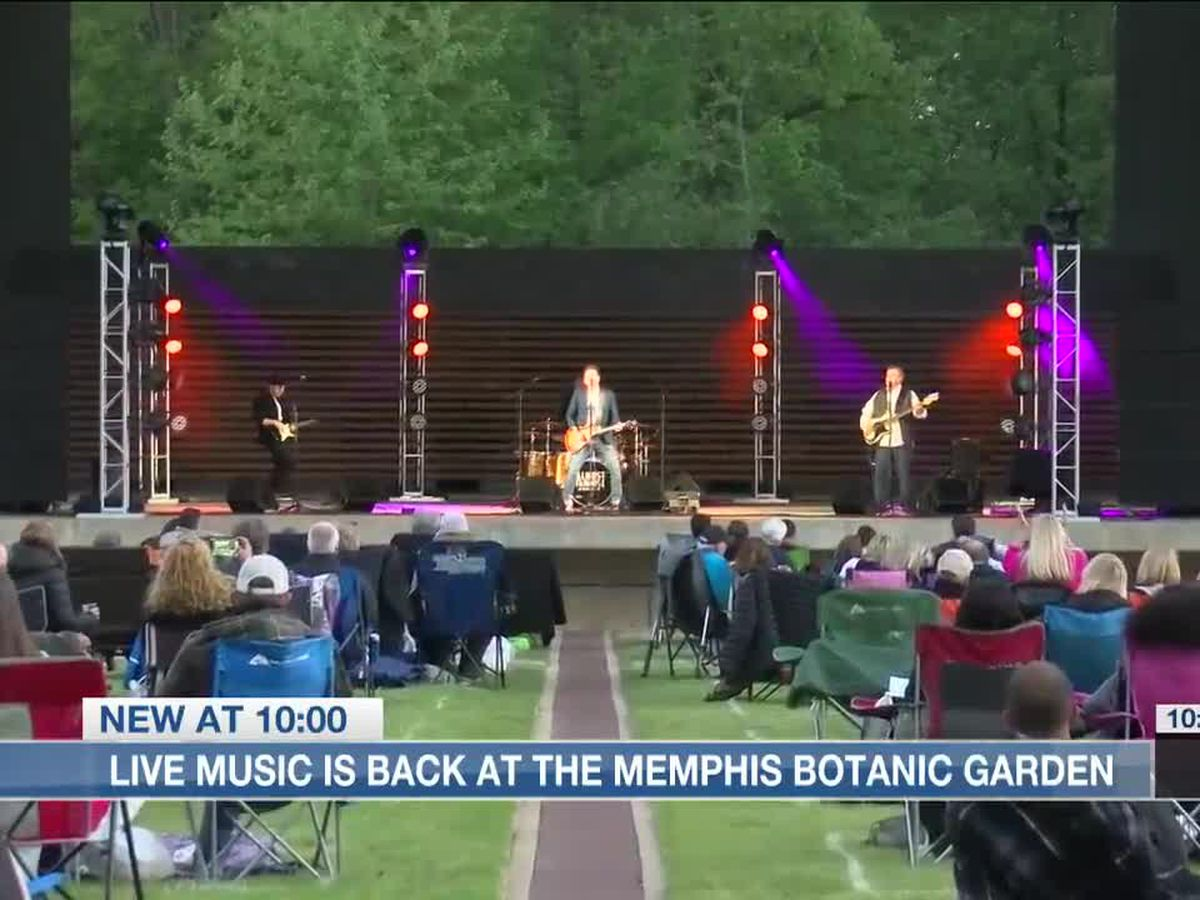 Live music is back at the Memphis Botanic Garden