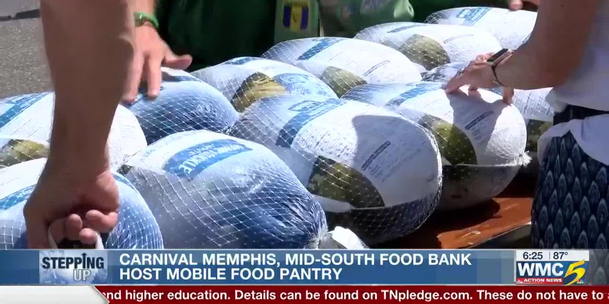 Carnival Memphis, Mid-South Food Bank host mobile food pantry
