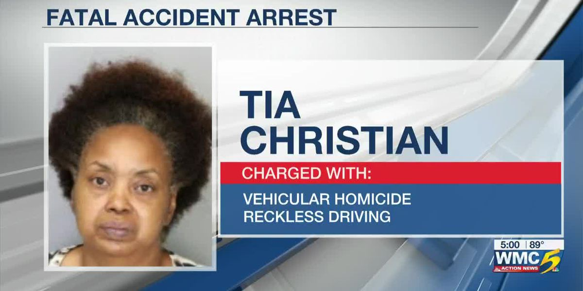 Woman arrested, accused of vehicular homicide