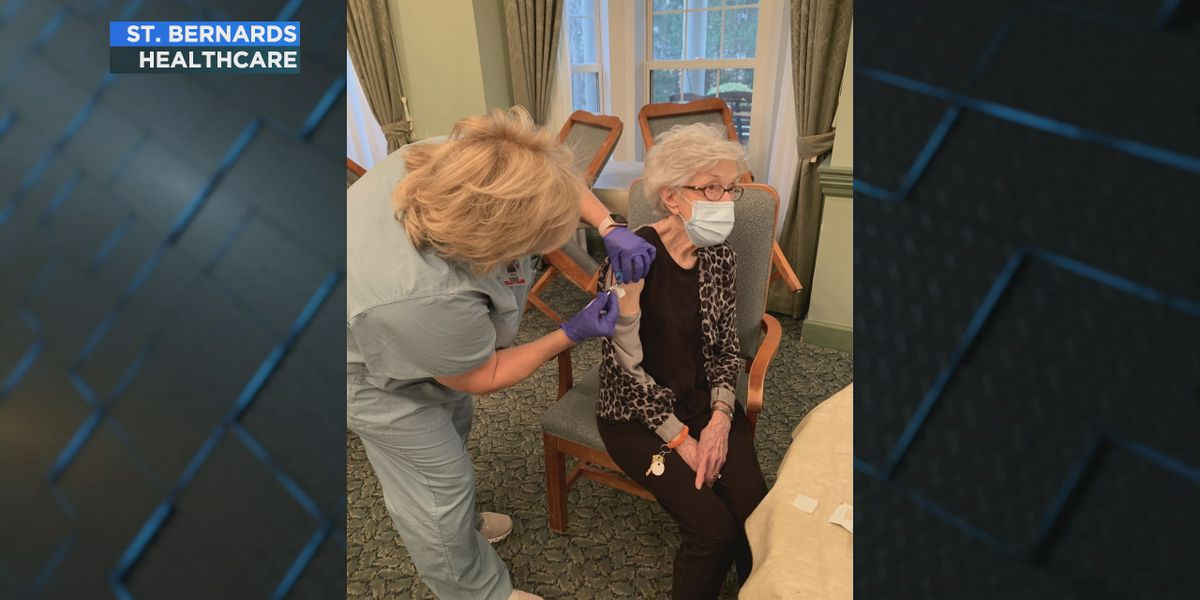Assisted living facilities begin receiving COVID vaccines, officials say it's 'a wonderful early Christmas gift'