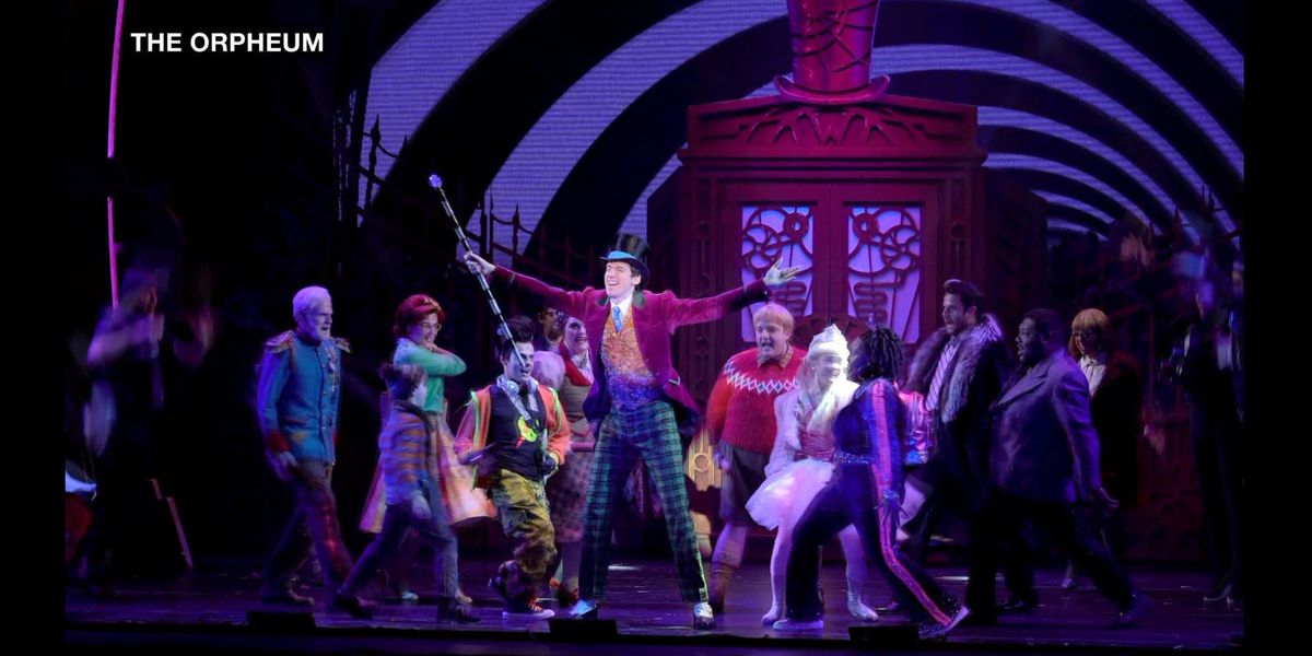 Step into a world of pure imagination with 'Charlie and the Chocolate Factory' at the Orpheum
