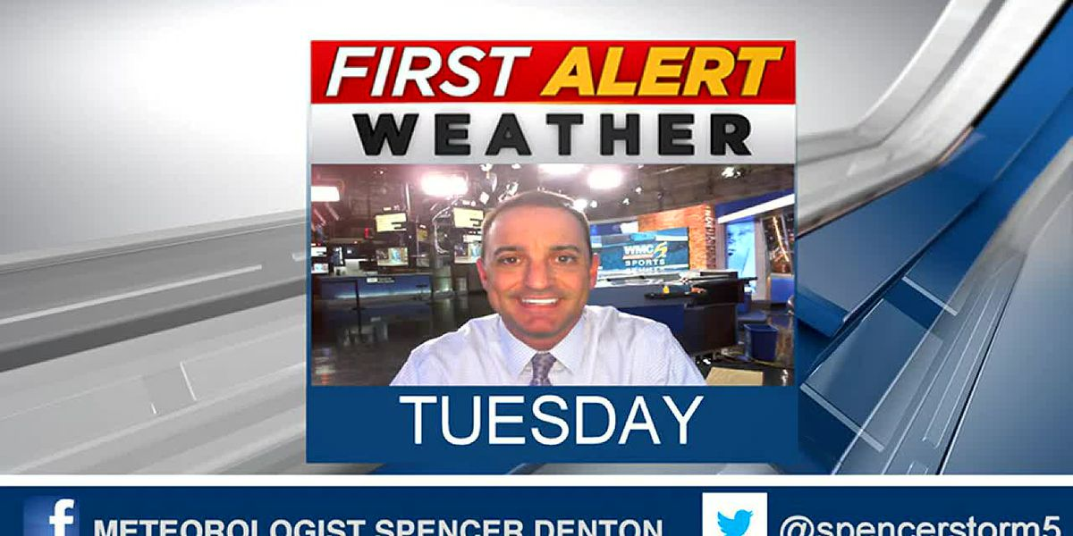 Spencer's Hot Tuesday Forecast