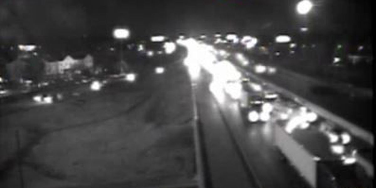One car overturns on I-40 in possible DUI crash