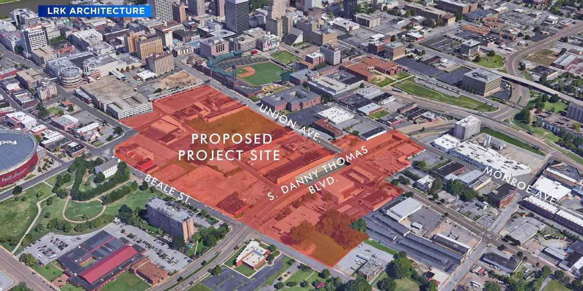 $950M Union Row proposed for Downtown Memphis
