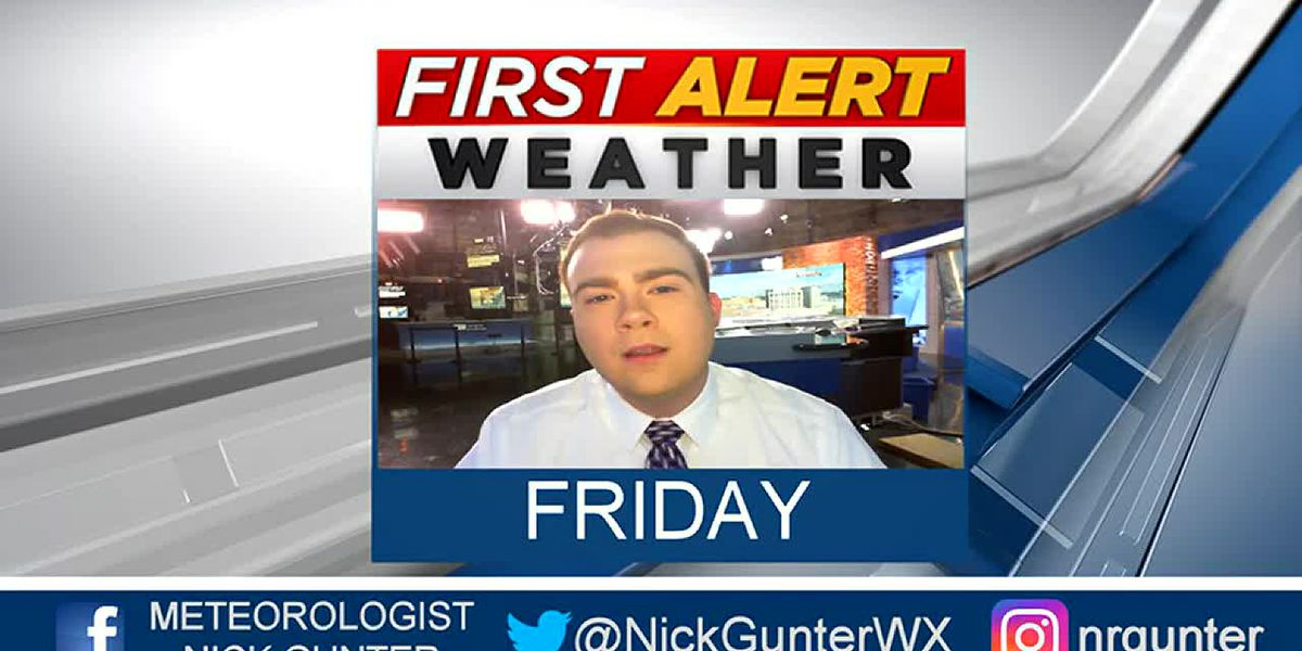 Friday, October 11th, First Alert Forecast