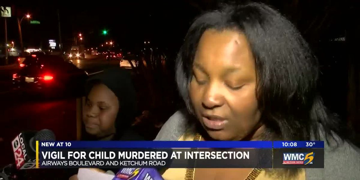 Vigil held for murdered 10-year-old boy