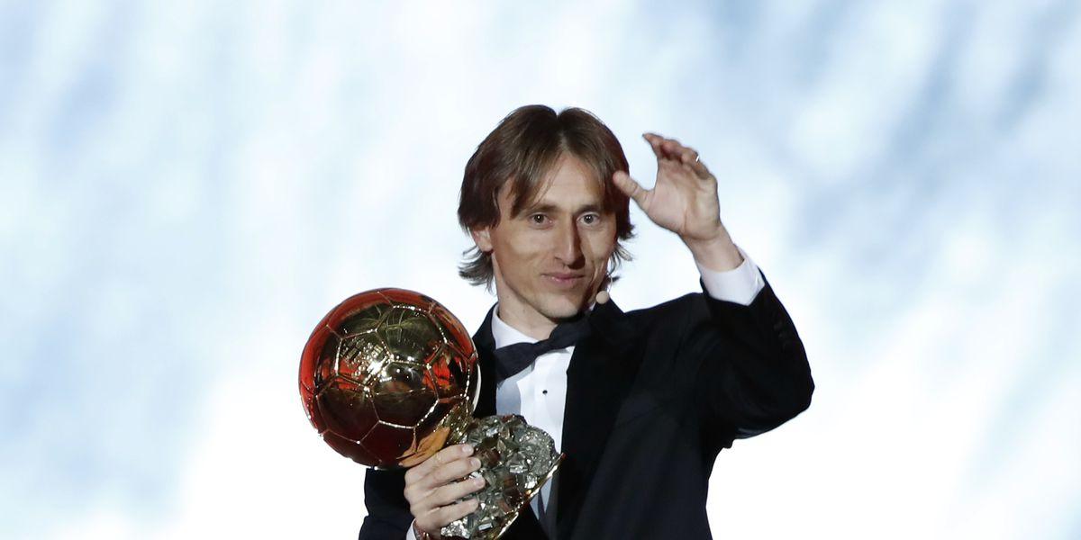 Ballon d'Or 1sts: Modric wins, Hegerberg takes women's award