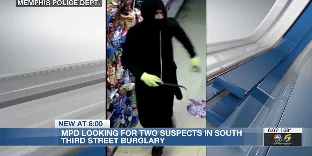 MPD looking for two suspects in South Third Street burglary
