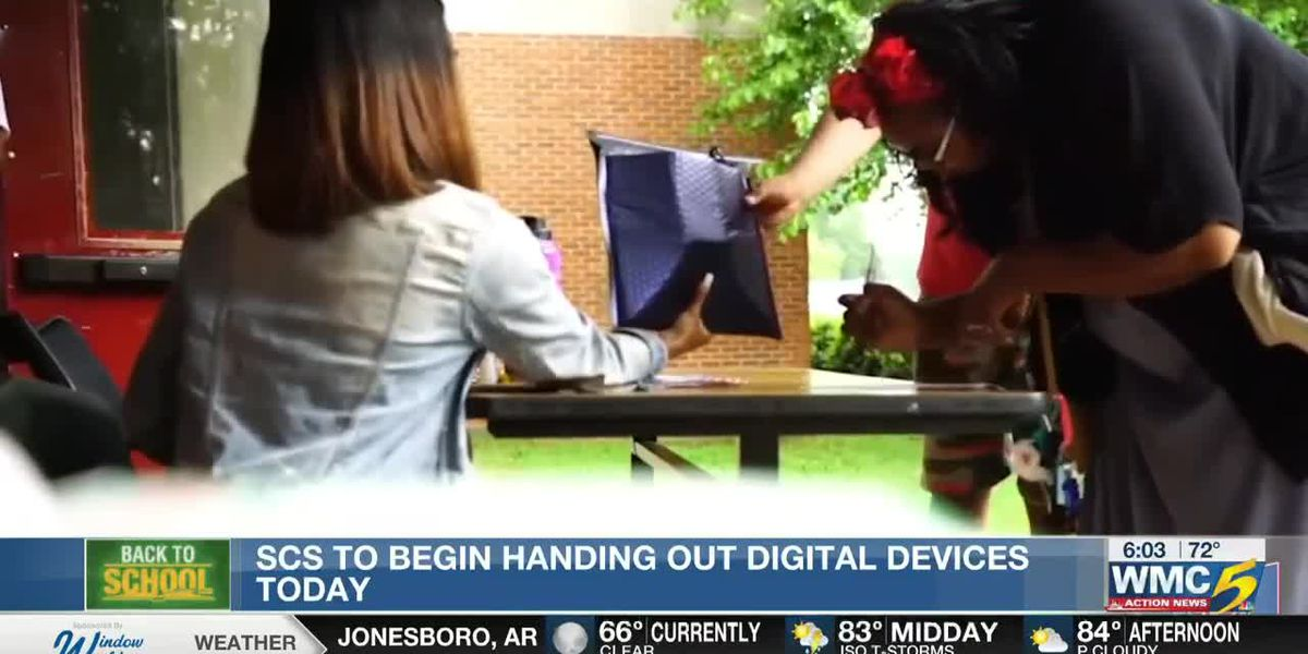 SCS to begin handing out digital devices today