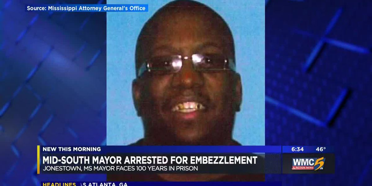 MS mayor arrested for stealing water bill payments, pawning officer's gun