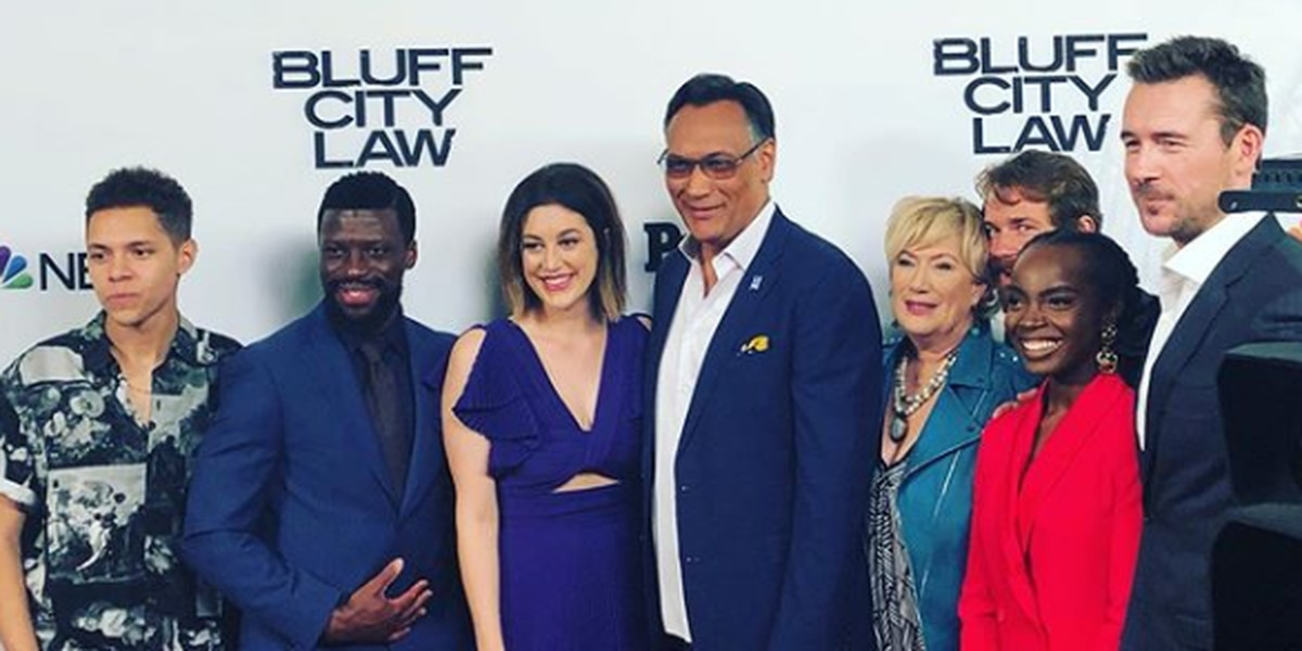 'Bluff City Law' stars show out for Memphis premiere