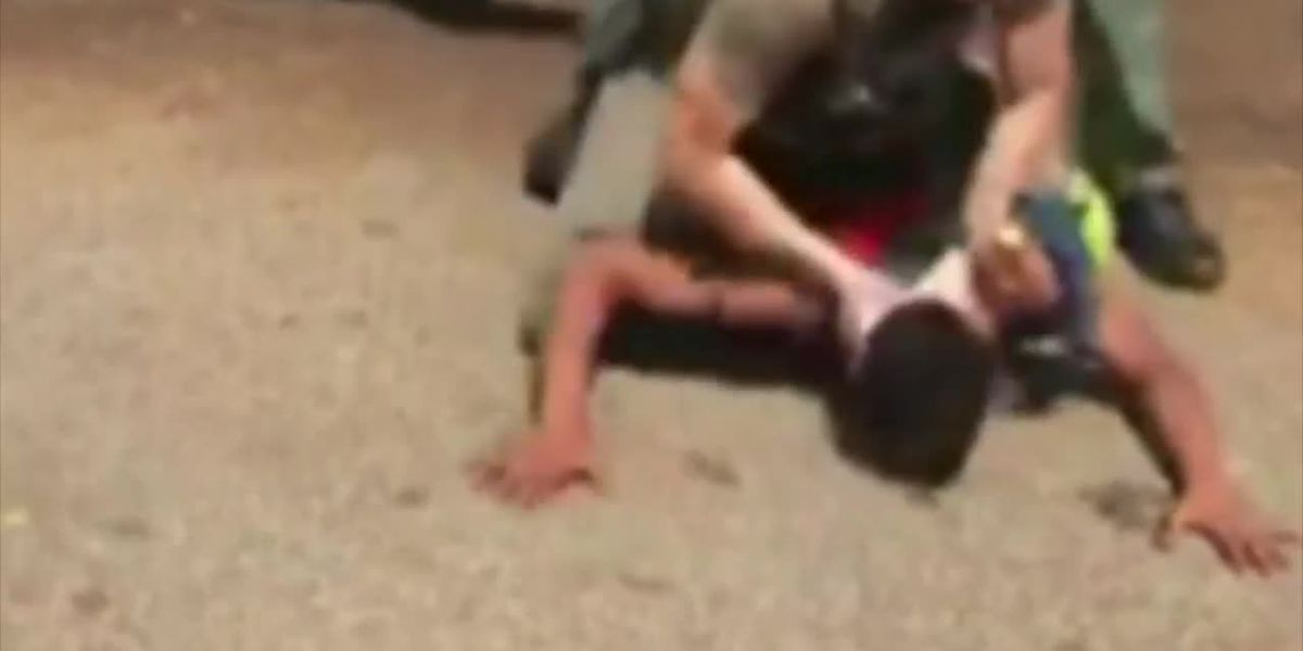 GRAPHIC: No charges will be filed against Florida teen in rough arrest