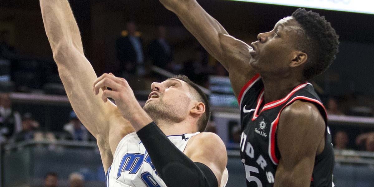 Vucevic has 30 points, 20 boards; Magic routs Raptors 116-87
