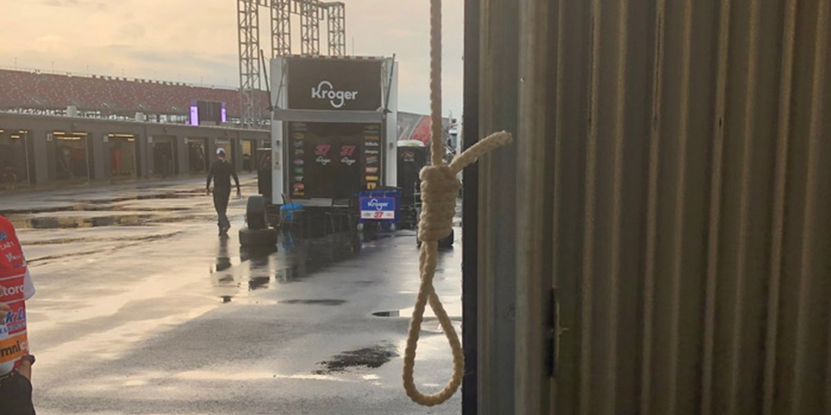 'The noose was real': NASCAR releases photo from Bubba Wallace's garage
